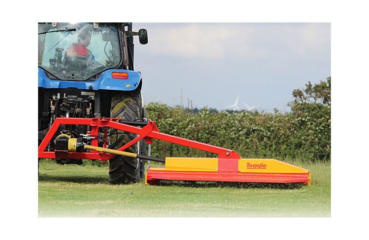 Teagle Fully offset pasture topper 8