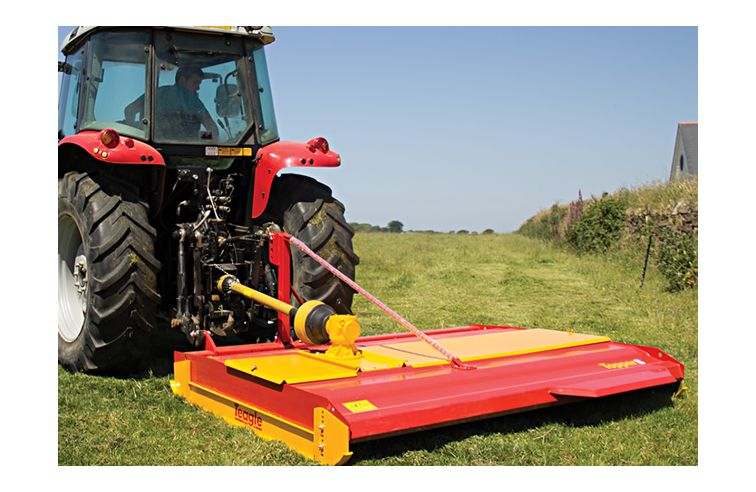 Teagle Belt drive pasture topper