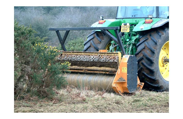 Teagle ECF (Cage rotor) Forestry Mulcher