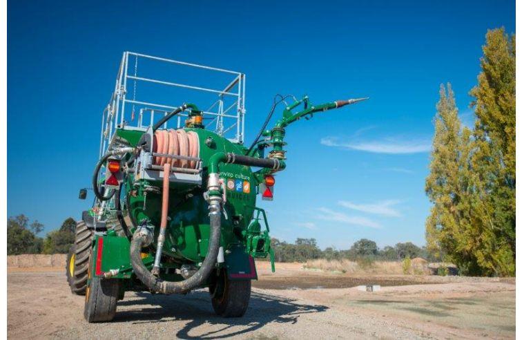Major Hydroseeding – 2200 Gallon Hydroseeder & Landcover Tanker