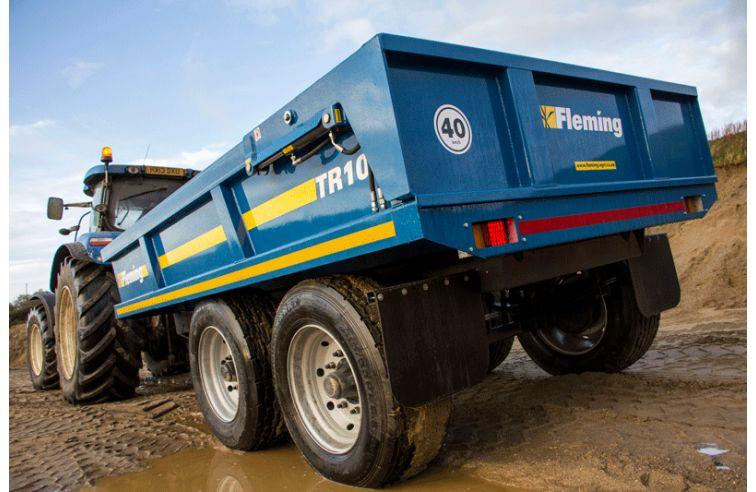 Fleming 10 Ton Dump Trailer