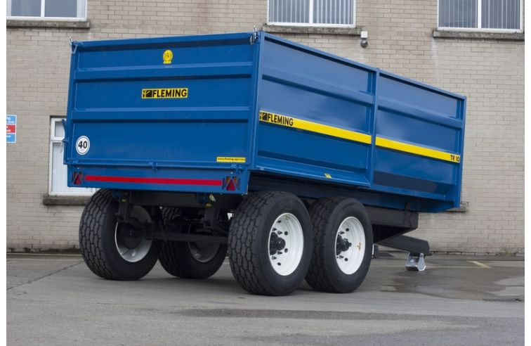 Fleming 10 Ton Monocoque Tipping Trailer