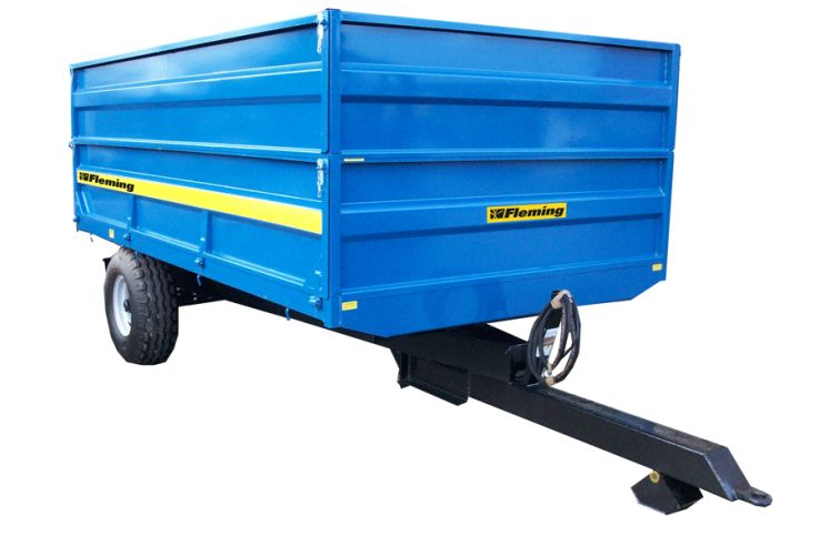 Fleming 4 and 6 Ton Tipping Trailers