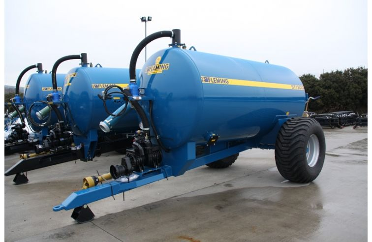 Fleming Non-Recessed Slurry Tanker