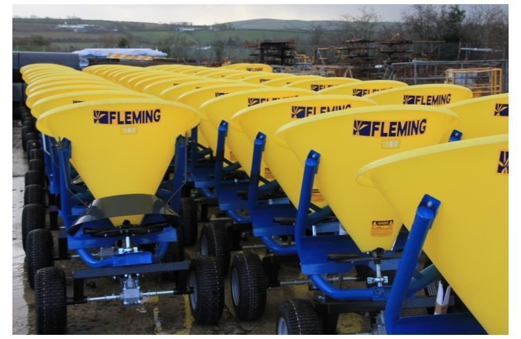 Fleming Trailed Fertiliser Spreader