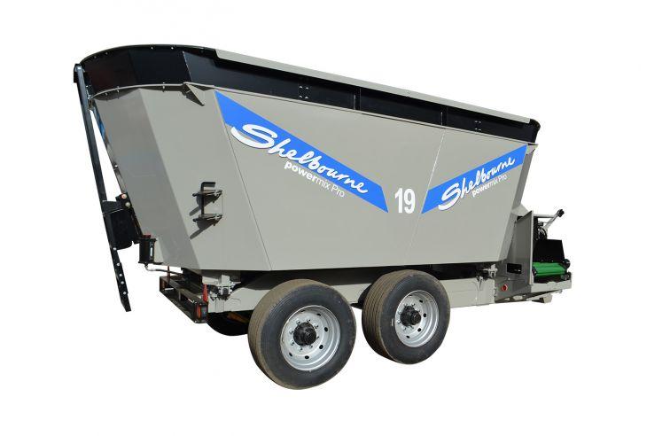 Shelbourne Reynolds Powermix Pro Express 19m³