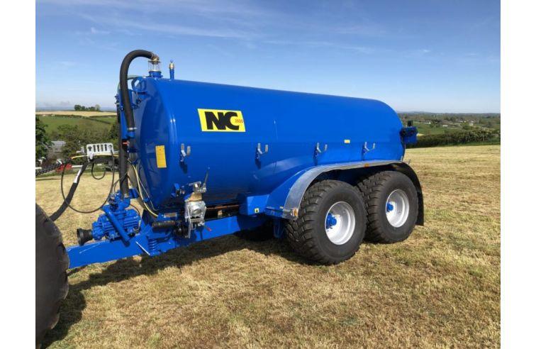 NC Vacuum Slurry Tankers - Tandem Axle