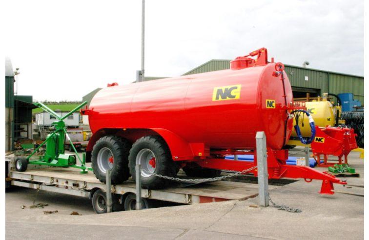 NC Top Fill Tankers - Tandem Axle
