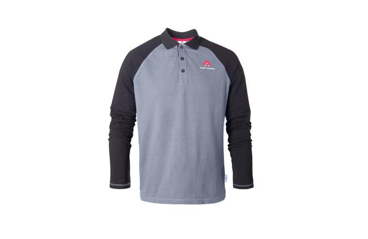 Longsleeve Raglan Polo Shirt