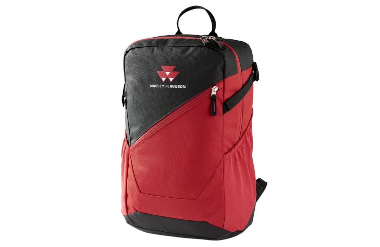 ADULT BLACK AND RED BACKPACK