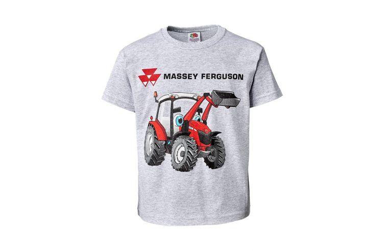 Kids' Puff Print T-shirt Grey
