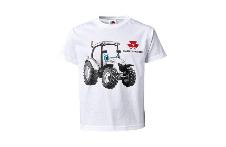 Kids' UV Activated T-shirt White