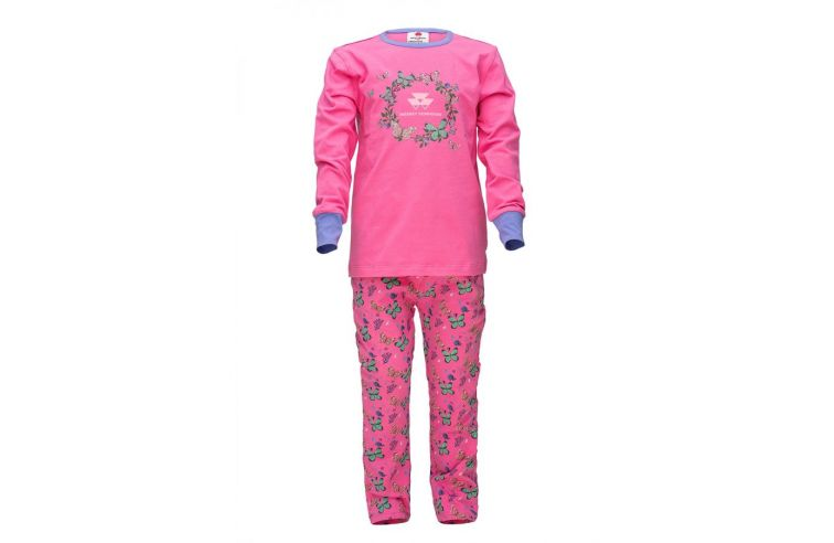 Girls' Pink Pyjama Set