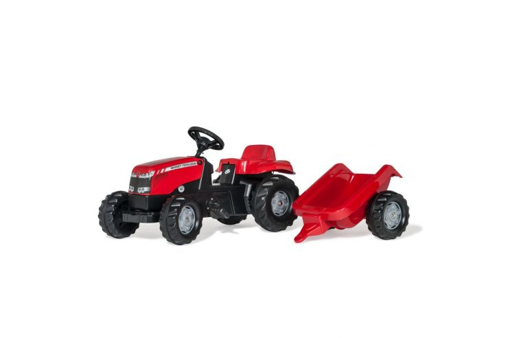 Massey Ferguson Pedal Tractor with trailer