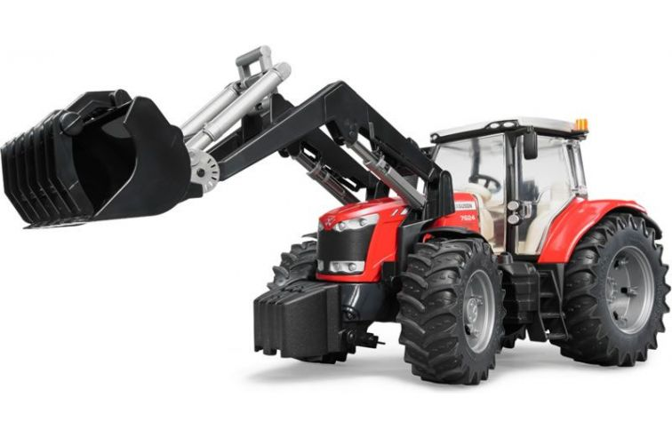 MF 7624 with Front Loader scale 1:16