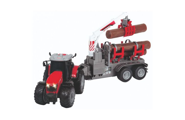MF 8737 WOOD LOADER WITH LIGHT AND SOUND EFFECTS
