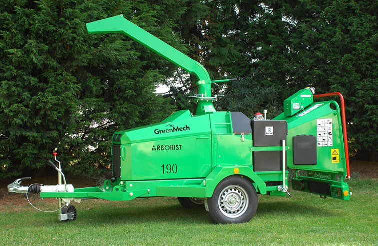 GREENMECH ARBORIST 190 CHIPPER