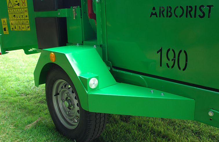 GREENMECH ARBORIST 190 CHIPPER