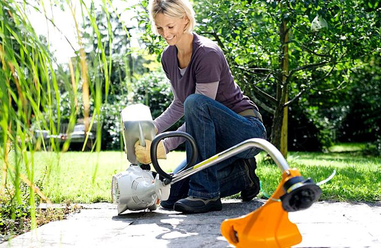 STIHL FS50C-E PETROL GRASS TRIMMER