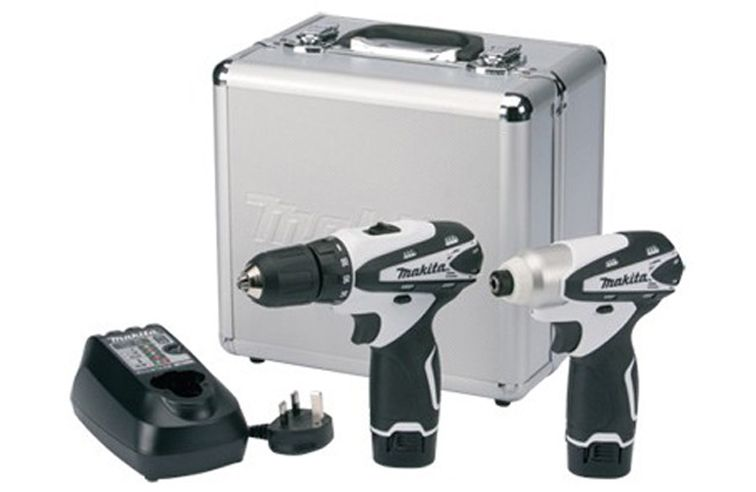 MAKITA LCT204W 10.8V DRILL/ IMPACT DRIVER KIT (2 PIECE)