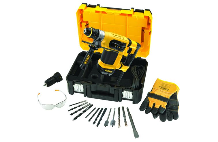 DEWALT D25414KT HEAVY DUTY SDS+ COMBINATION HAMMER DRILL