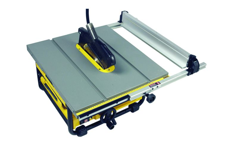 DEWALT DW745 TABLE  SAW + DE7400 ROLLING STAND