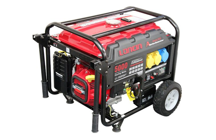 LONCIN LC5000D-AS 4.0KW GENERATOR