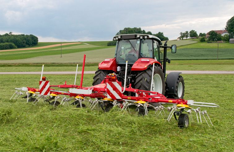 PÖTTINGER HIT 800N 6-ROTOR TEDDER