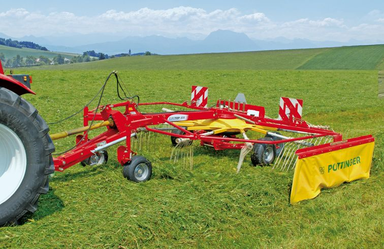 PÖTTINGER EUROTOP 461 SINGLE-ROTOR RAKE
