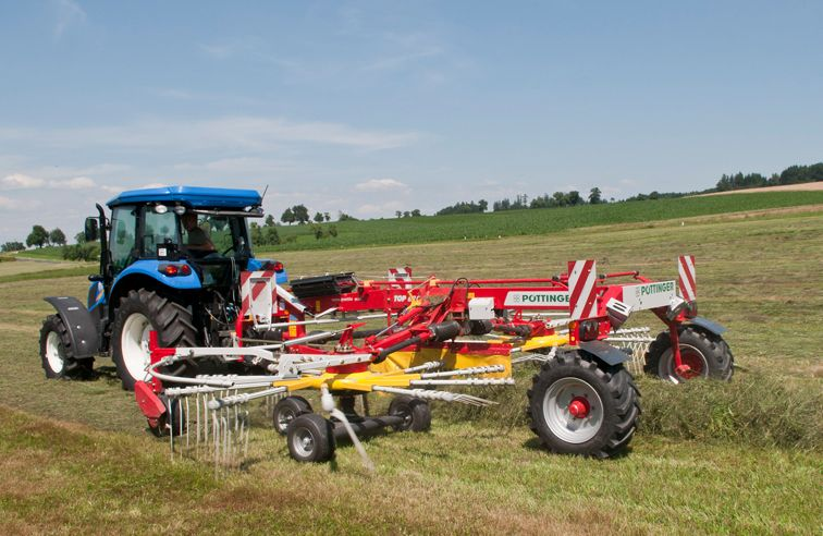 PÖTTINGER TOP 612C 2-ROTOR RAKE