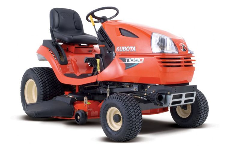 "KUBOTA T1880 42"" PETROL RIDE ON MOWER"