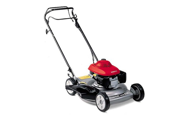 HONDA HRS 536 SK 53CM SELF PROPELLED LAWN MOWER WITH SIDE EJECTION