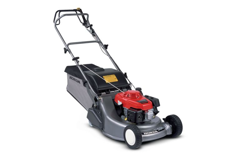 HONDA HRD 536 QX 53CM SELF PROPELLED LAWN MOWER WITH REAR ROLLER