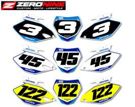 Custom number plates - Yamaha SX Lites Series