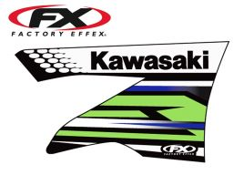 Factory Effex OEM replica graphics for Kawasaki KXF450 2009-11