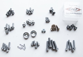 Bolt Motorcycle Hardware European Track Pack