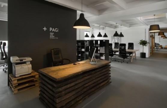 Open Plan Reception Design