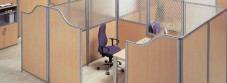 Wooden Freestanding Office Screens