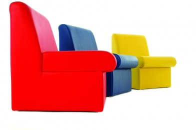 Vinyl Reception Chairs