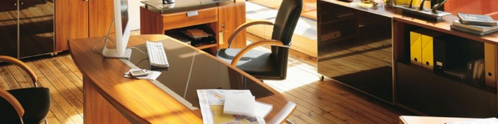 Santos Glass Executive Furniture