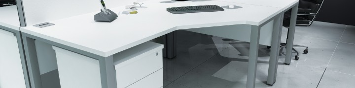 Avalon Bench Desks in 15 colors - Free install