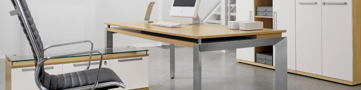 Sliver Glass Office Furniture