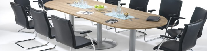 Tulip Boardroom Tables in 15 colours
