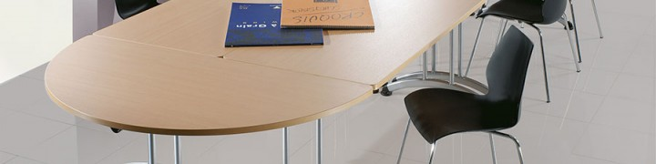Transunion folding tables