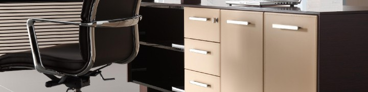 Astral Executive Furniture - Leather tops