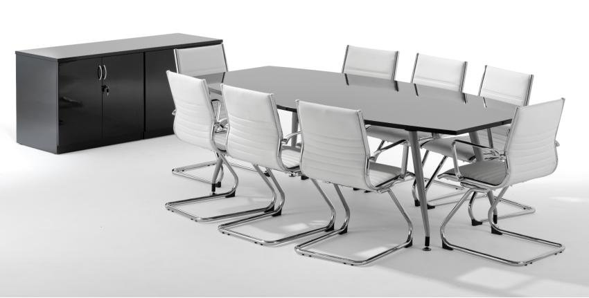 Opal High Gloss Boardroom Tables Online Reality