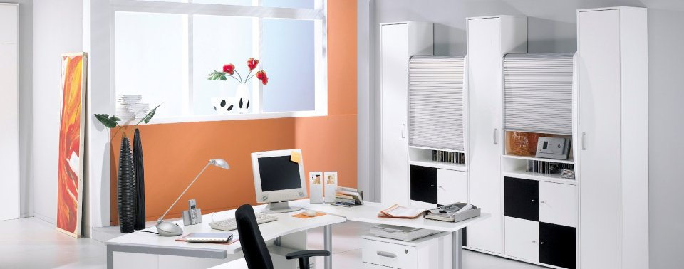 black and white office furniture online reality