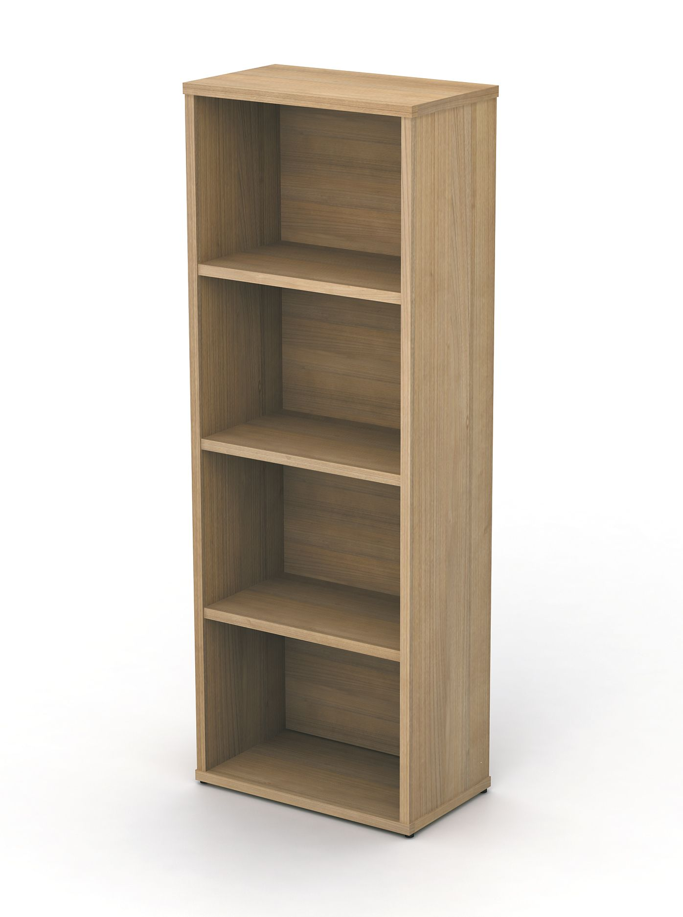 narrow bookcase avalon plus 725mm high 1 shelf online reality. Black Bedroom Furniture Sets. Home Design Ideas