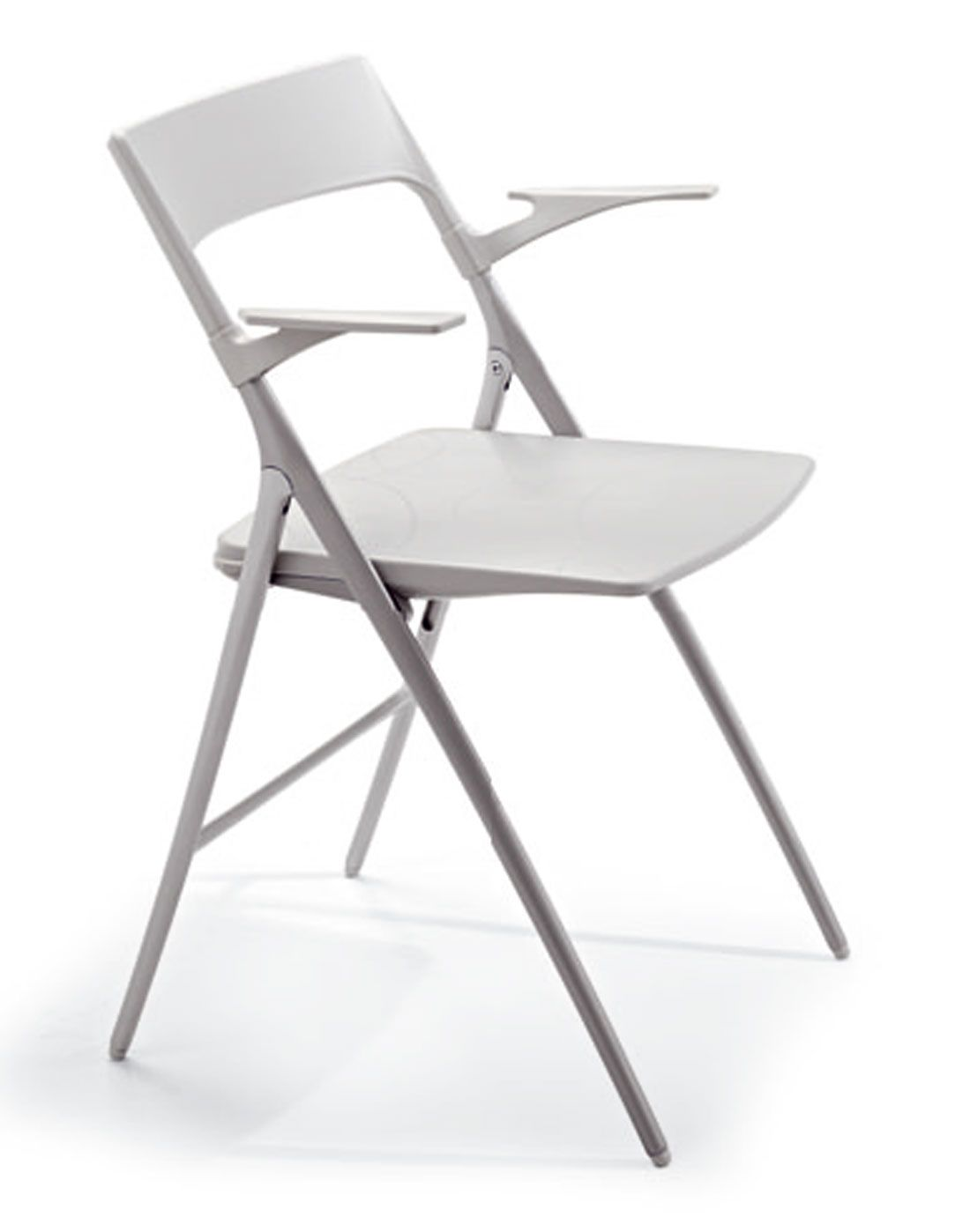 Designer Folding Chair with Arms Plek line Reality