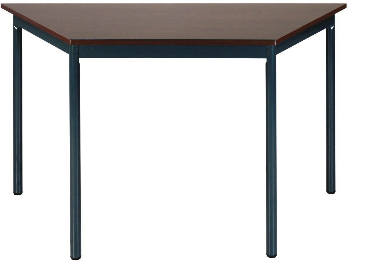 Cheap trapezoidal tables buro 1200mm online reality for Trapazoid table